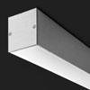 DABI COP - Stropn�, p�isazen� sv�tidlo t�leso hlin�kov� profil, povrch elox, difuzor plast mat, pro z��ivku 1x/2x/14W/21W/28W35W/39W/49W/54W G5, stm�v 1-10V/DALI, 230V, IP20, 60x62mm, d�lka dle typu, koncovky SAMOSTATN�, sv�t� -dol�