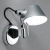 MICRO FARETTO E14 - N�st�nn� lampa, z�kladna hlin�k hlin�k lesk, st�n�tko hlin�k elox, pro ��rovku 1x60W, E14, 230V, IP20, 200x200mm, bez vyp�na�e