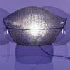 Stoln� lampa dekorativn�, PATROCLO, z�kladna a st�n�tko kombinace sklo-kov, 1x100W, E27, 230V, IP20, d=470mm, h=395mm, se stm�va�em