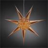 V�no�n� osv�tlen�, pap�rov� hv�zda sedmic�p� na zav�en�, barva b�l� nebo zlat�, 1x15W, E14, 230V, IP20, rozm�ry d=70cm, p�ivodn� kabel b�l� s vyp�na�em l=500cm
