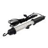 WORK 27 - LED pracovn�, mont�n� lampa, materi�l plast, barva �ern�, 1,5W 27xLED, studen� b�l� 6500K, 230V, IP20, 375x40mm, p��vodn� kabel, l=4700mm.