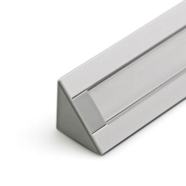 PROLED-08 ROHOVÝ HLINÍKOVÝ PROFIL PRO LED PÁSEK Y56296n Hliníkový profil  pro LED pásek bafaa90802