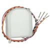 RF Dvojit� bin�rn� vstupy 2x bezpotenci�lov� kontakt, nap�jen� z baterie 3 V pro za�len�n� klasick�ch vyp�na�� do RF syst�mu, d�le pro za�len�n� okenn�ch kontakt�, detektory pohybu a pod.