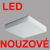TILIA 1 LED NOUZOVE - Stropn� sv�tidlo, SA - b�n� i nouzov� sv�cen�, nouz sv�cen� 1W/3h, z�kladna kov, povrch b�l�, difuzor polykarbon�t nebo PMMA, LED, neutr�ln� 4000K nebo tepl� 3000K, 230V, zv�en� kryt� IP44,300x300mm,h=70mm, �chyt st�n�tka klapky