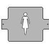 St�n�tko WOMAN QUATRIX, �ed�, modr�, hlin�k, 187x139mm