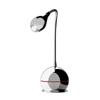 FENESSE - Stoln� lampa, t�leso kov, povrch chrom, 3W LED, tepl� b�l� 3000K, 230V/700mA, IP20, rozm�ry v=320mm, s vyp�na�em