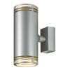HILARY W2 - N�st�nn� sv�tidlo bodov�, t�leso hlin�k, povrch �edost��brn�, nebo chrom lesk, 2x50W, GU10, 230V, IP20, 68x170x120mm, sv�t� nahoru/dol�