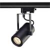 EURO SPOT INTEGR LED - Bodov� sv�tidlo, materi�l hlin�k, povrch b�l� / �ern� /�edost��brn�, LED 13W, 6xLED, vyza�. �hel 15�,24�,36�, stm�vateln� L, 230V, d=80mm, l=150mm, h=185mm, pro instalaci na t��f�zovou nap�jec� li�tu NORDIC ALUMINIUM, nebo EUTRAC