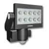 XLED 10 - PIR - Venkovn� n�st�nn� reflektor se senzorem, �idlem pohybu pohybu 270�, dosah a� 12m, �as 5s-15min, t�leso hlin�k, barva �ern�, nebo b�l�, 30W, 10xLED, neutr�ln� b�l� 4100K, 2000lm, 230V, IP44, rozm�ry 205x200x220mm