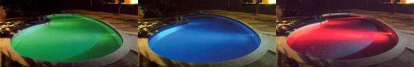 LED RGB pro bazén