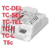 TRIDONIC PRO - Univerz�ln�, v�cev�konov�, elektronick� p�ed�adn�k TRIDONIC PRO pro z��ivky TC-DEL/TC-SEL/TC-TEL/T5c/TC-S/TC-L - 1x/2x 9W/10W/11W/13W/18W/26W/32W/42W/57W/70W, 198-264V, Ta-25/60�C, IP20, rozm�ry dle