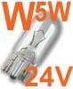Auto��rovka OSRAM W5W, 24V, 5W, patice W2,1x9,5d - Auto��rovky