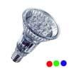 OSRAM DECOSPOT LED - Sv�teln� zdroj ��rovka LED bodov� - barva sv�tla: �erven�, zelen�,  E14, vyza�ovac� �hel 12�, 230V, d=51mm, l=77mm - energeticky �sporn� sv�teln� zdroj s dlouhou dobou �ivota a okam�it�m startem.