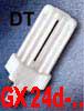 DULUX T - Sv�teln� zdroj, kompaktn� z��ivka OSRAM, DT patice 13W/GX24d-1, 18W/GX24d-2, 26W/GX24d-3  pro konven�n� p�ed�adn�ky - energeticky �sporn� sv�teln� zdroj s dlouhou dobou �ivota.