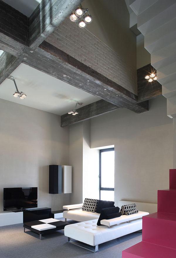bodová světla pro vysoký strop - bodovky