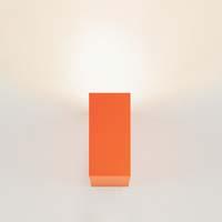 nástěnné svítidlo monolite oranžové provedení