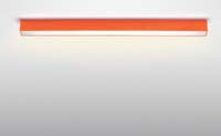 stropní svítidlo minima oranžové provedení