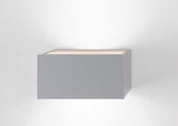 nástěnné svítidlo NET šedé provedení