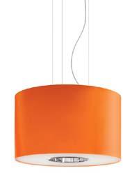 Závěsné svítidlo POLIFEMO barva oranžová