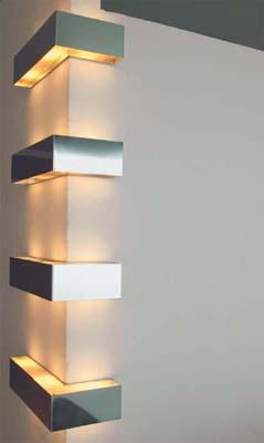 rohové svítidlo tvaru L