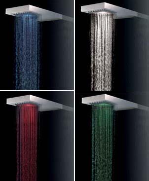 LED RGB sprcha