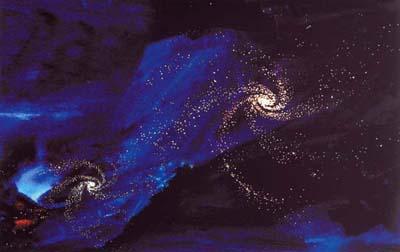 uměle vytvořené hvězdné nebe2