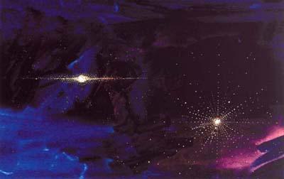 uměle vytvořené hvězdné nebe4