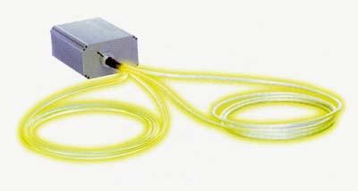 světlovodné kabely bazén