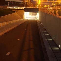 LED koridory v dopravě