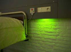 LED noční lůžka